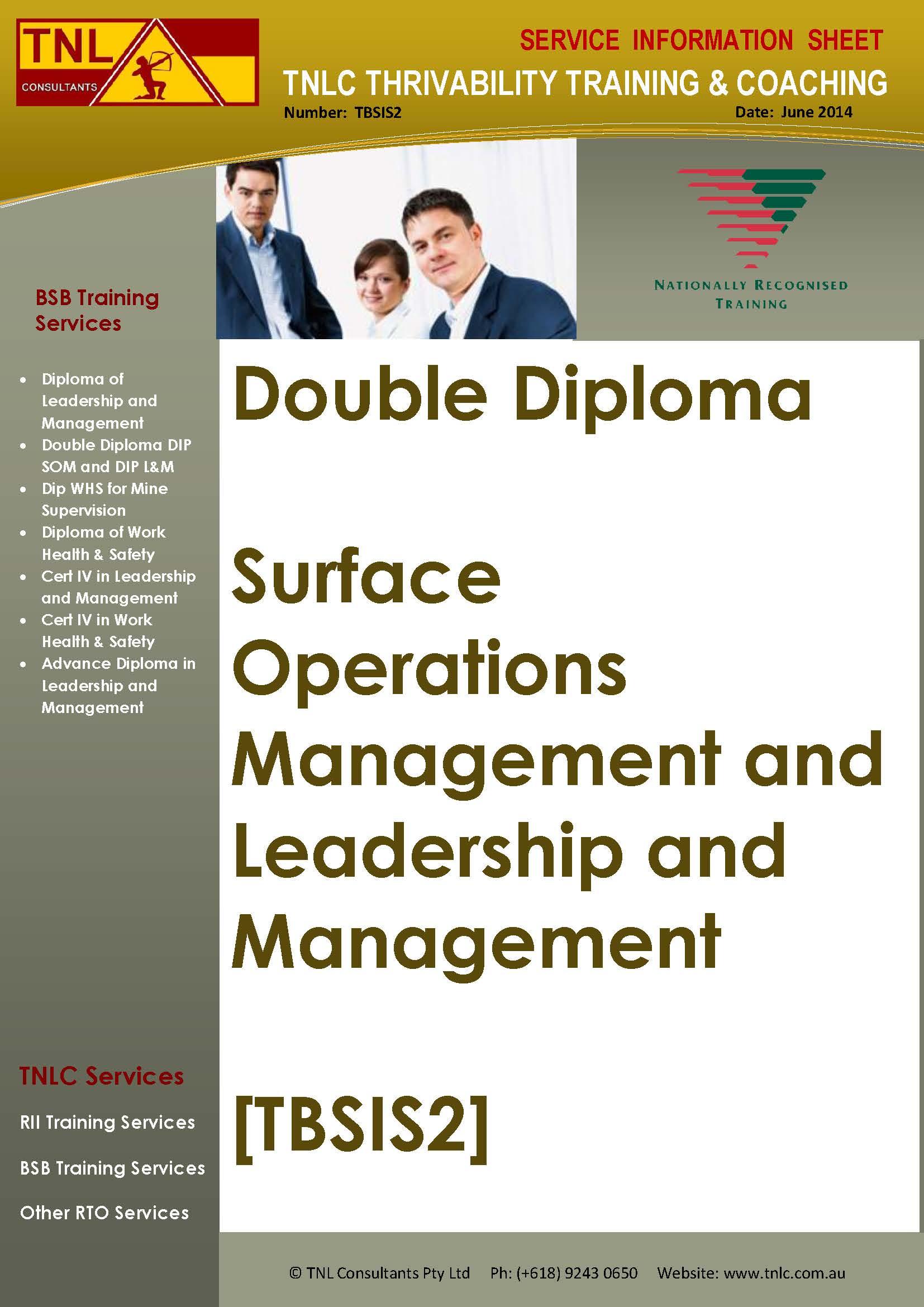 TBSIS2 Double Diploma Sept 2015IMAGEv1