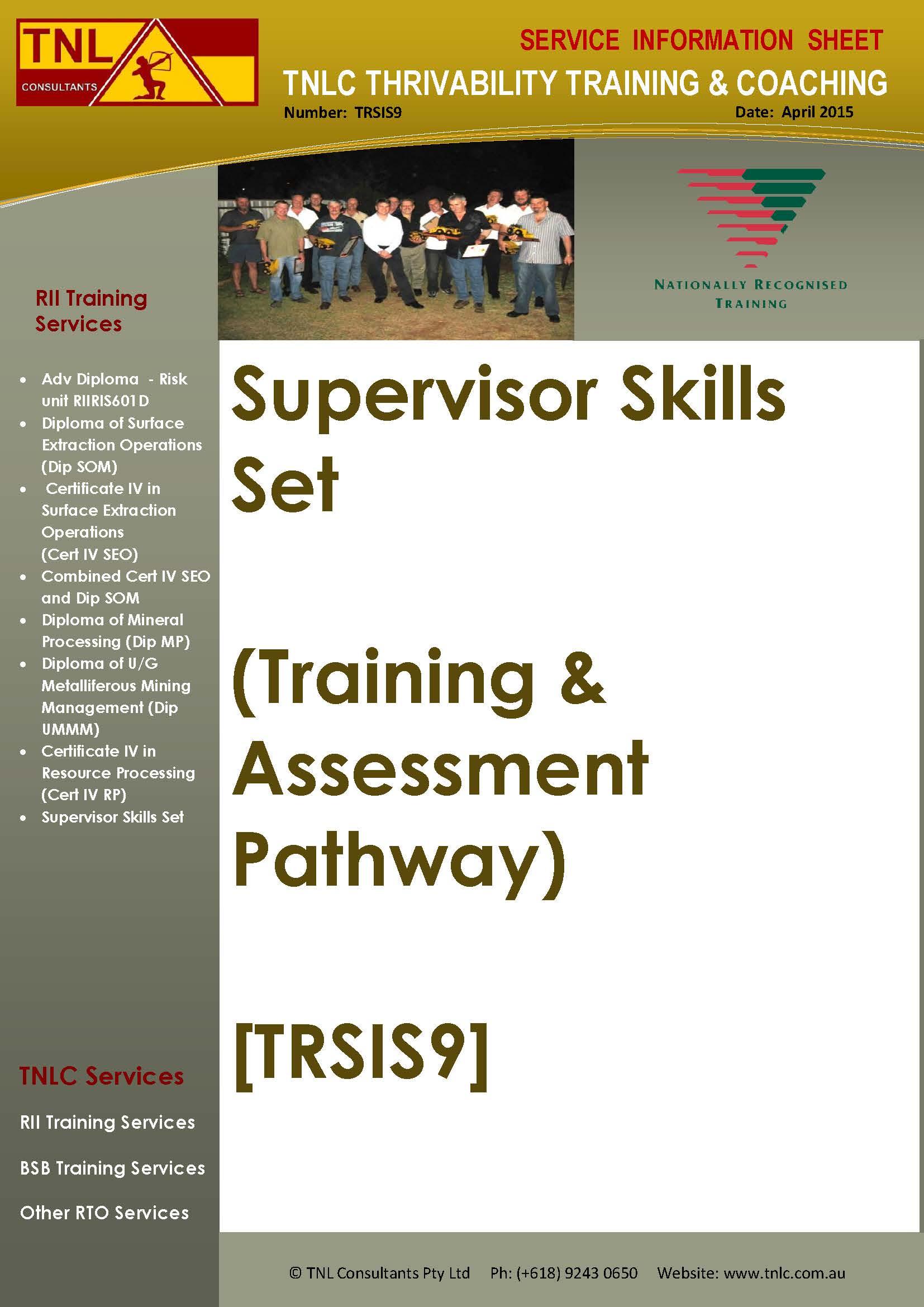 TRSIS9_SSS_Train&Assess_Apil2015IMAGEv1